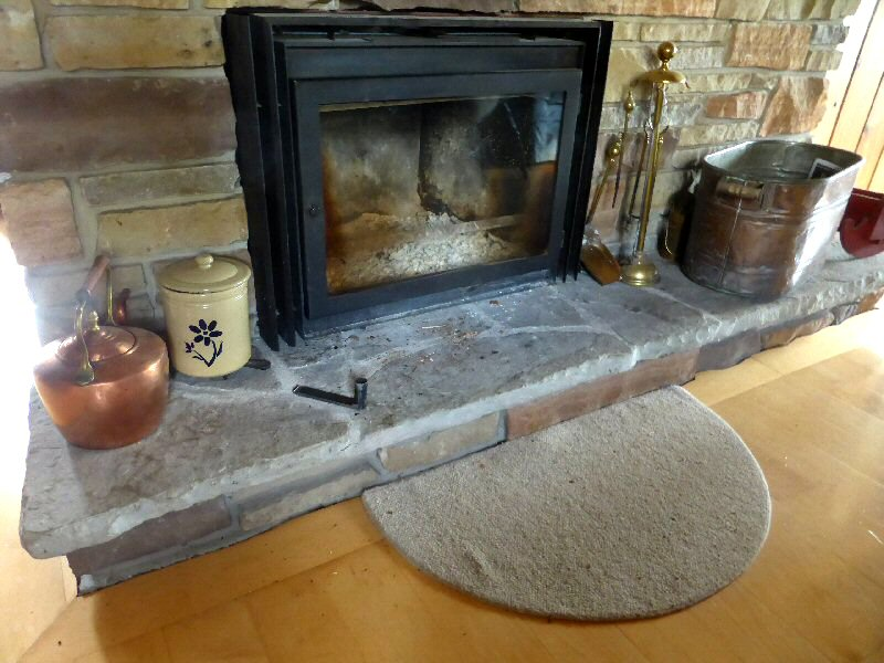 Converting a masonry fireplace to a masonry heater