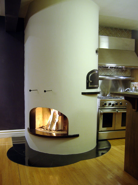 Fireplace / Bake Oven Combination