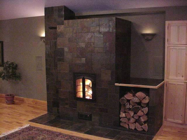 Slate Tile For A Fireplace The Interior Design Inspiration Board