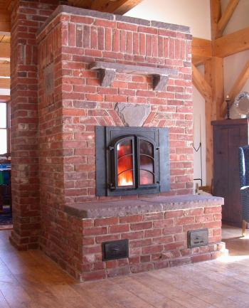 Brick heater by William Davenport