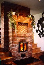 Masonry Heater by Masonry Stove Builders